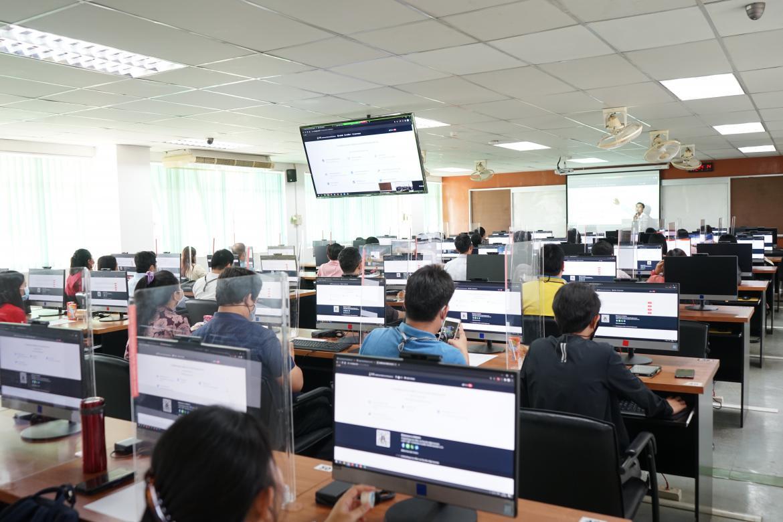 สำนักประกันคุณภาพการศึกษา จัดกิจกรรมอบรมระบบสารสนเทศติดตามผลการพัฒนาตามเกณฑ์มาตรฐานสากล (E-IC)