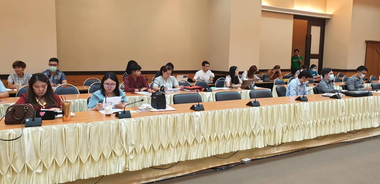 กิจกรรมแลกเปลี่ยนเรียนรู้การดำเนินงานตามตัวบ่งชี้ระดับคณะ และมหาวิทยาลัย  ประจำปีการศึกษา 2563 (รอบ 9 เดือน)