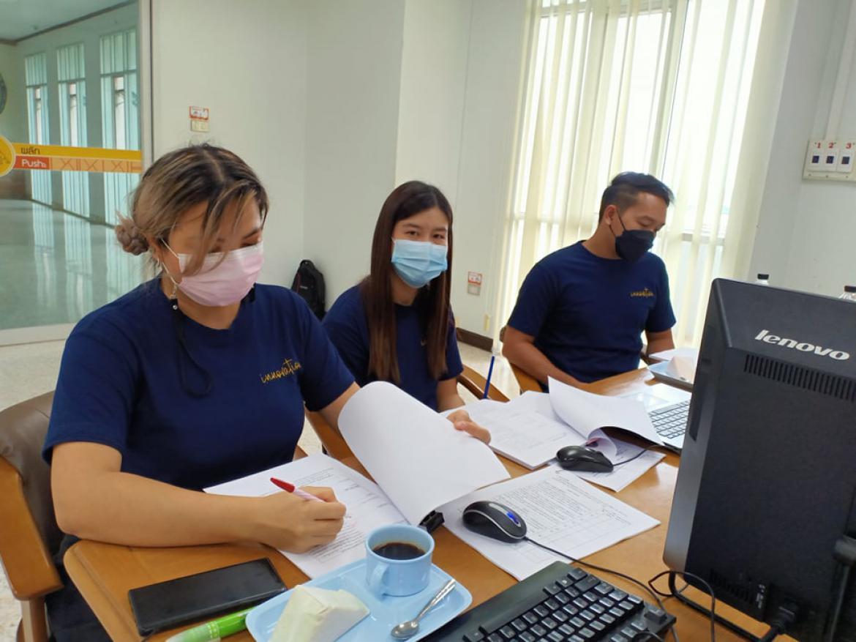 กิจกรรมการตรวจประเมินคุณภาพการศึกษาภายใน กองนโยบายและแผน  มหาวิทยาลัยราชภัฏกำแพงเพชร